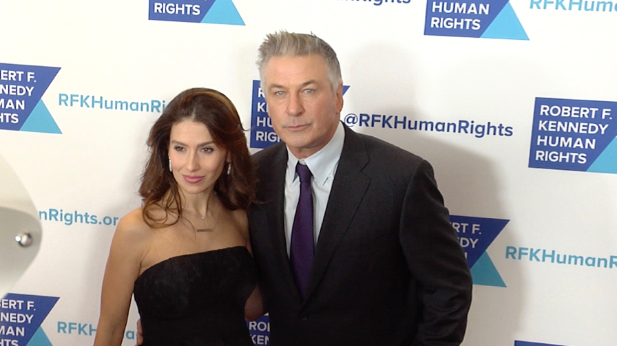 Alec Baldwin and wife Hilaria at Ripple Of Hope Awards Dinner