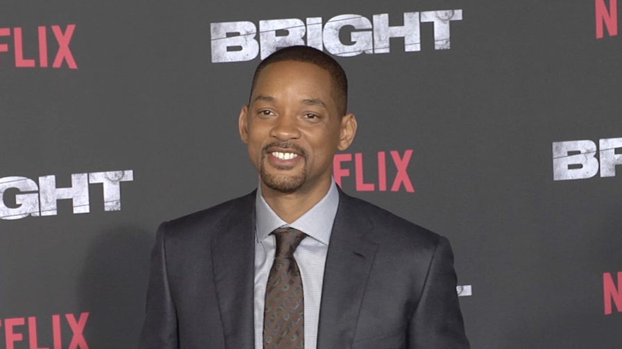 Will Smith at Bright Premiere in Los Angeles