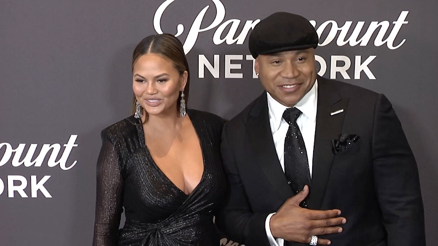 LL Cool J and Chrissy Teigen at 2018 Lip Sync Battle Live, A Michael Jackson Celebration
