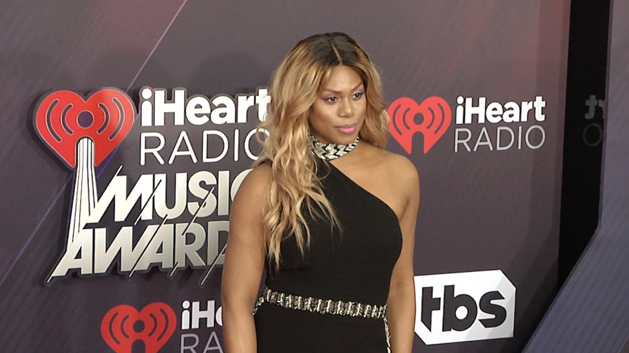 Laverne Cox at 2018 iHeartRadio Music Awards
