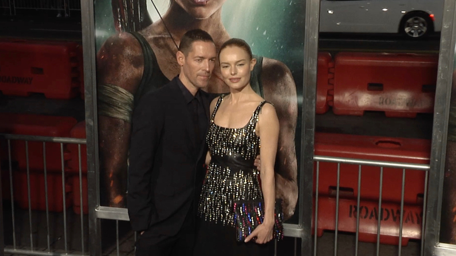 Kate Bosworth at Tomb Raider Premiere in Los Angeles