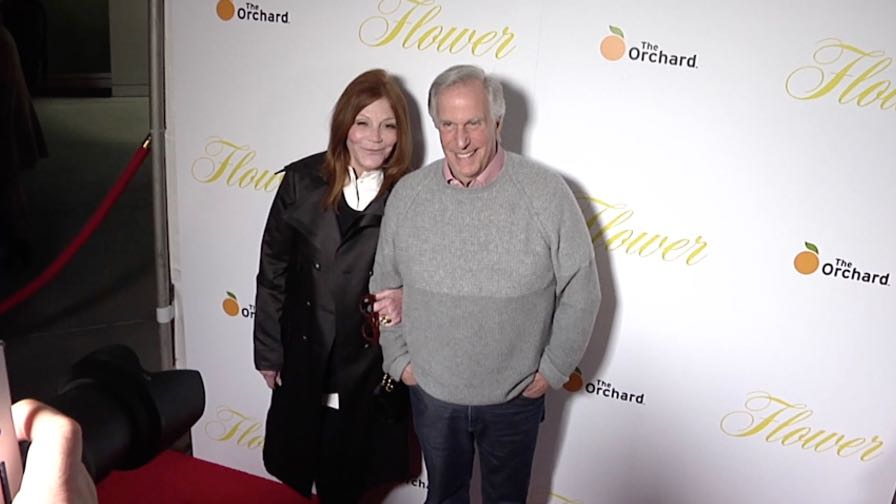 Henry Winkler, Stacey Weitzman and more on the red carpet for the Premiere Of The Orchard s Flower