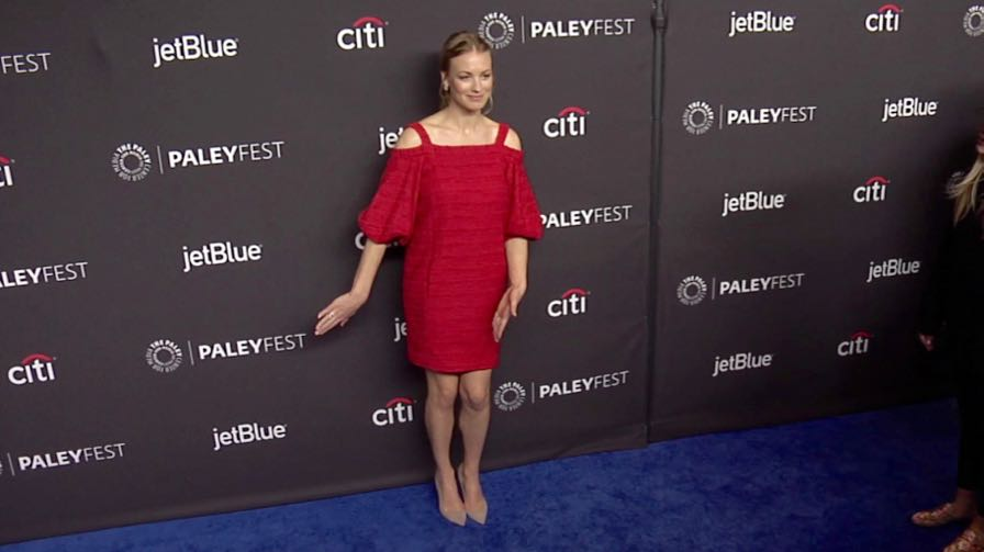 Yvonne Strahovski and more on the red carpet for the Handmaid s Tale screening in Los Angeles