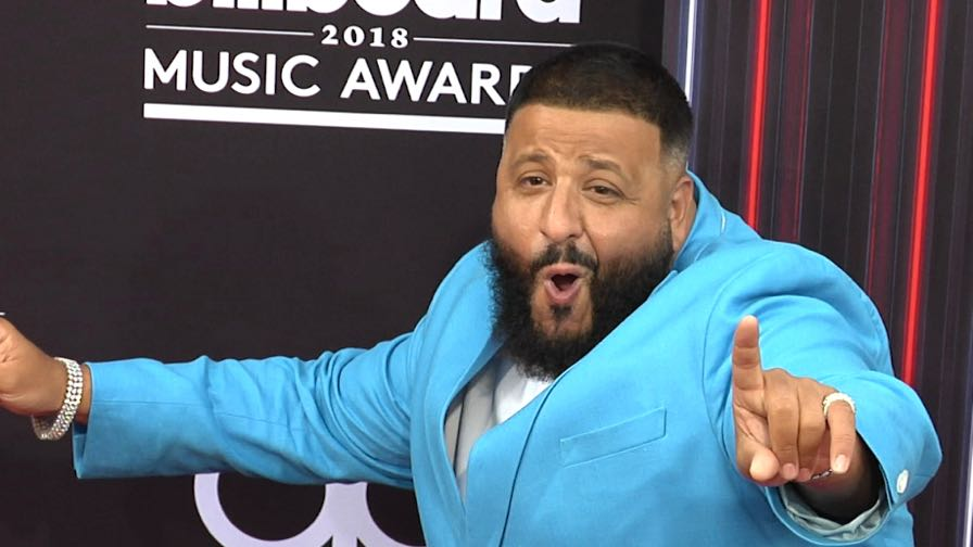 DJ Khaled on the red carpet for the 2018 Billboard Music Awards