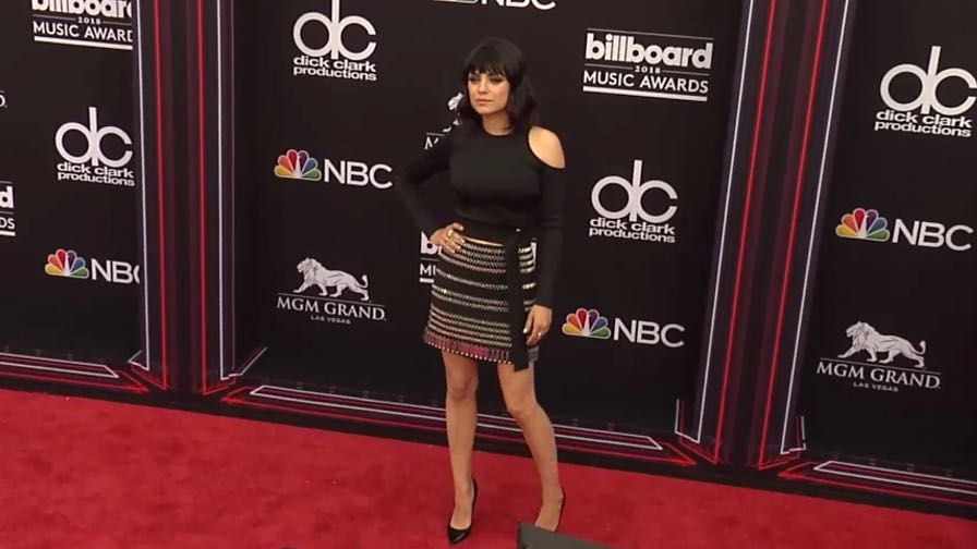 Mila Kunis on the red carpet for the 2018 Billboard Music Awards